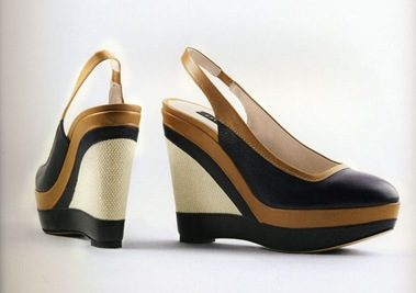 Туфли на танкетке 2012