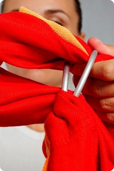Как одевать слинг