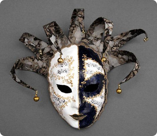 1094-1 Как сделать маску папье маше? Колдуем над бумагой!