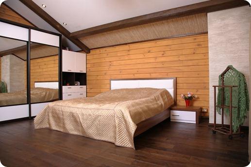 """Спальня в стиле """"Шале"""""""