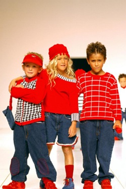 Влияние цвета детской одежды на детей
