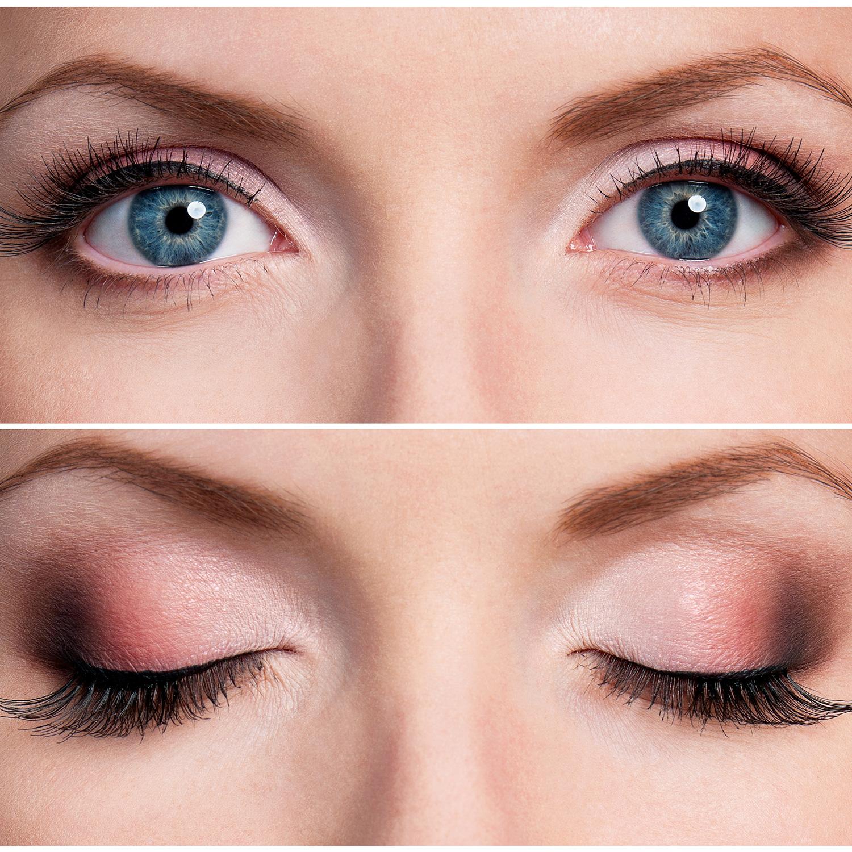 1beautiful-prom-eye-makeup Макияж для голубых глаз (42 фото): красивый повседневный make-up для серо-голубых глаз и русых волос, нежный и яркий, пошаговые инструкции