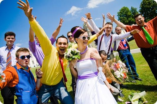Свадьба в стиле стиляг.