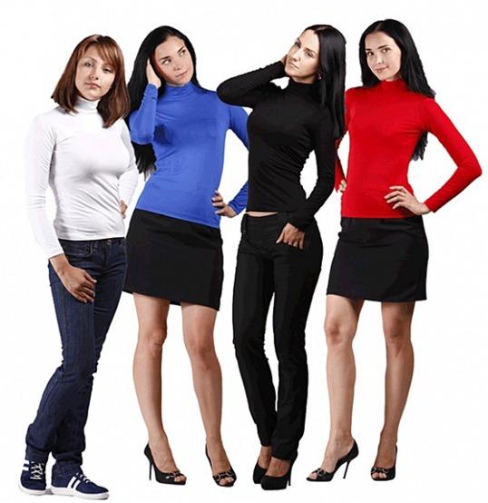Женский трикотаж: практичное и доступное решение