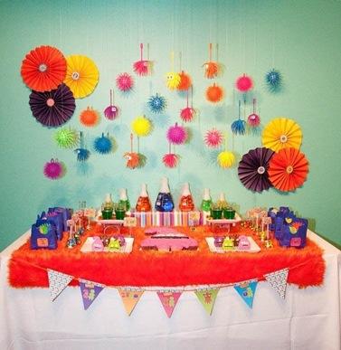 Идеи оформления детских праздников