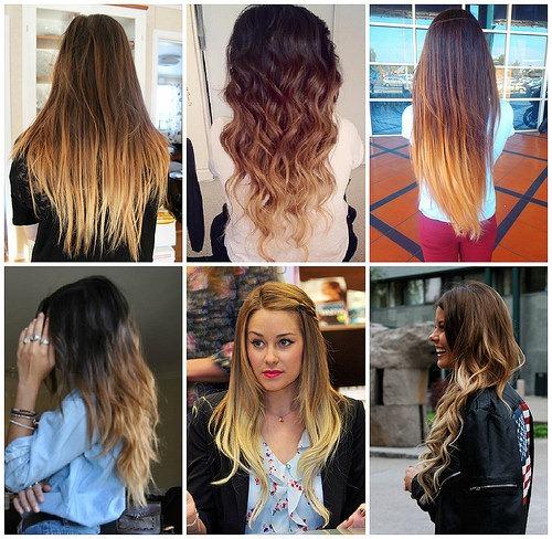 Покрас волос