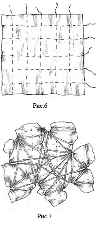 узелковый батик