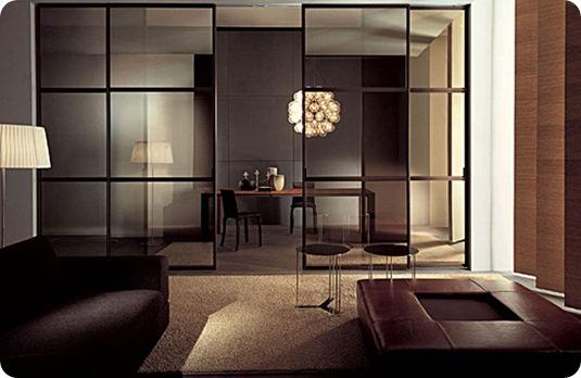 стеклянные перегородки в квартире