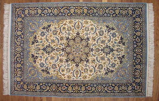 персидский ковер исфахан