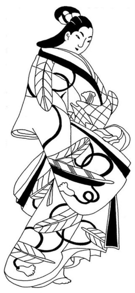 эскизы для батика