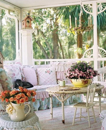 Дизайн и декор веранды. Подборка фото