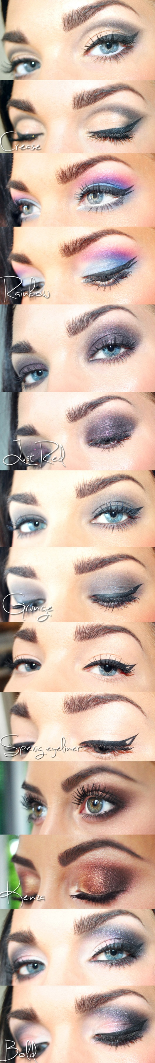 макияж глаз фото уроки