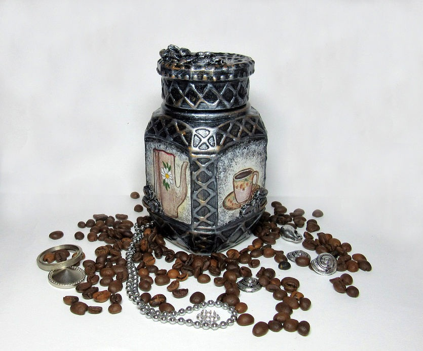 Баночка кофе