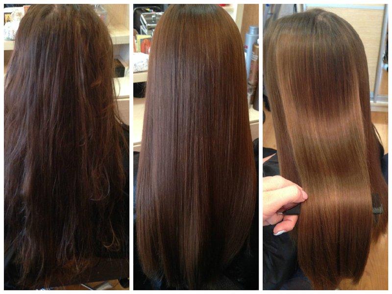 Эффект ботокса для волос