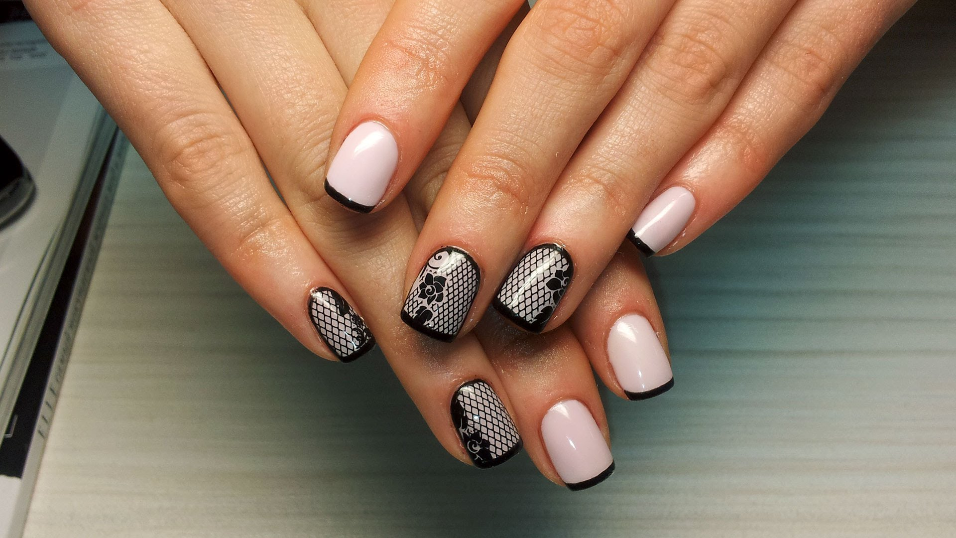 Фото ногтей с дизайном гелевых