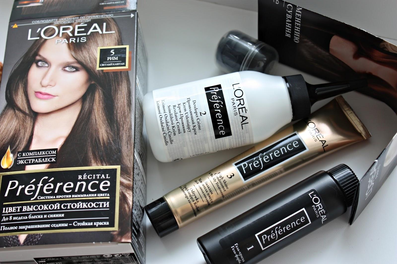 Лореаль краска для волос официальный сайт