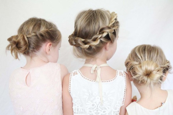 Красивые косички для девочек