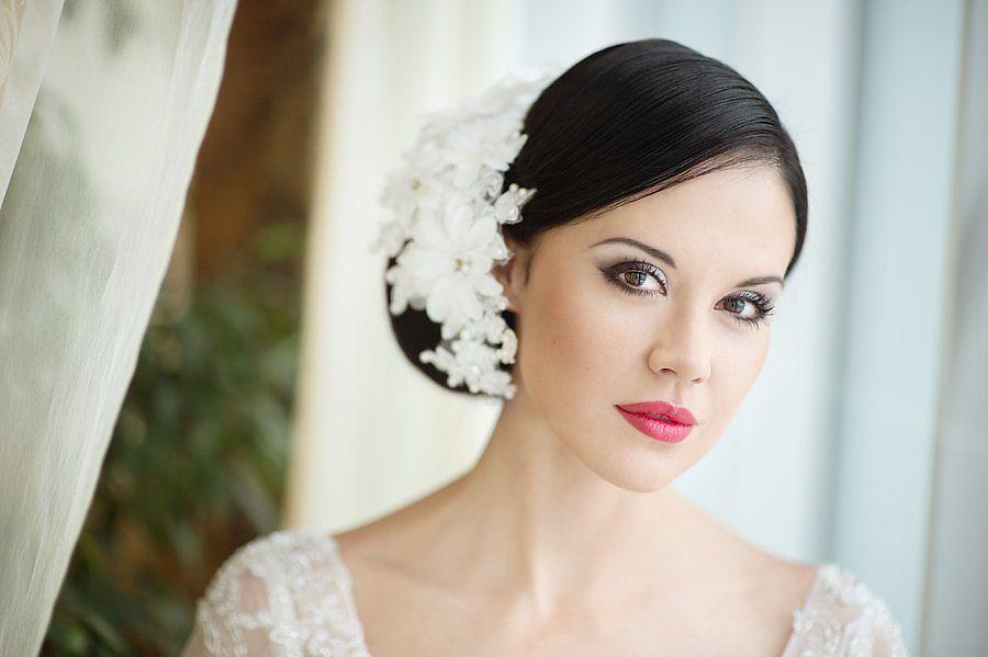 Макияж для кареглазой брюнетки на свадьбу