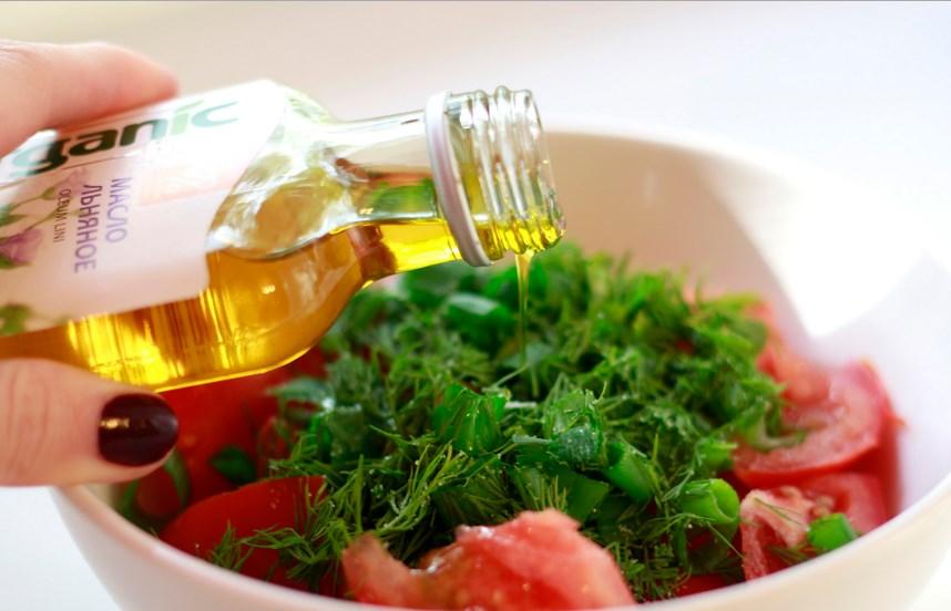 Льняное масло диета