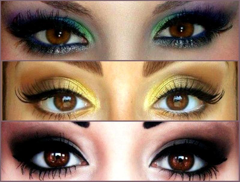 Макияж для карих глаз (2)