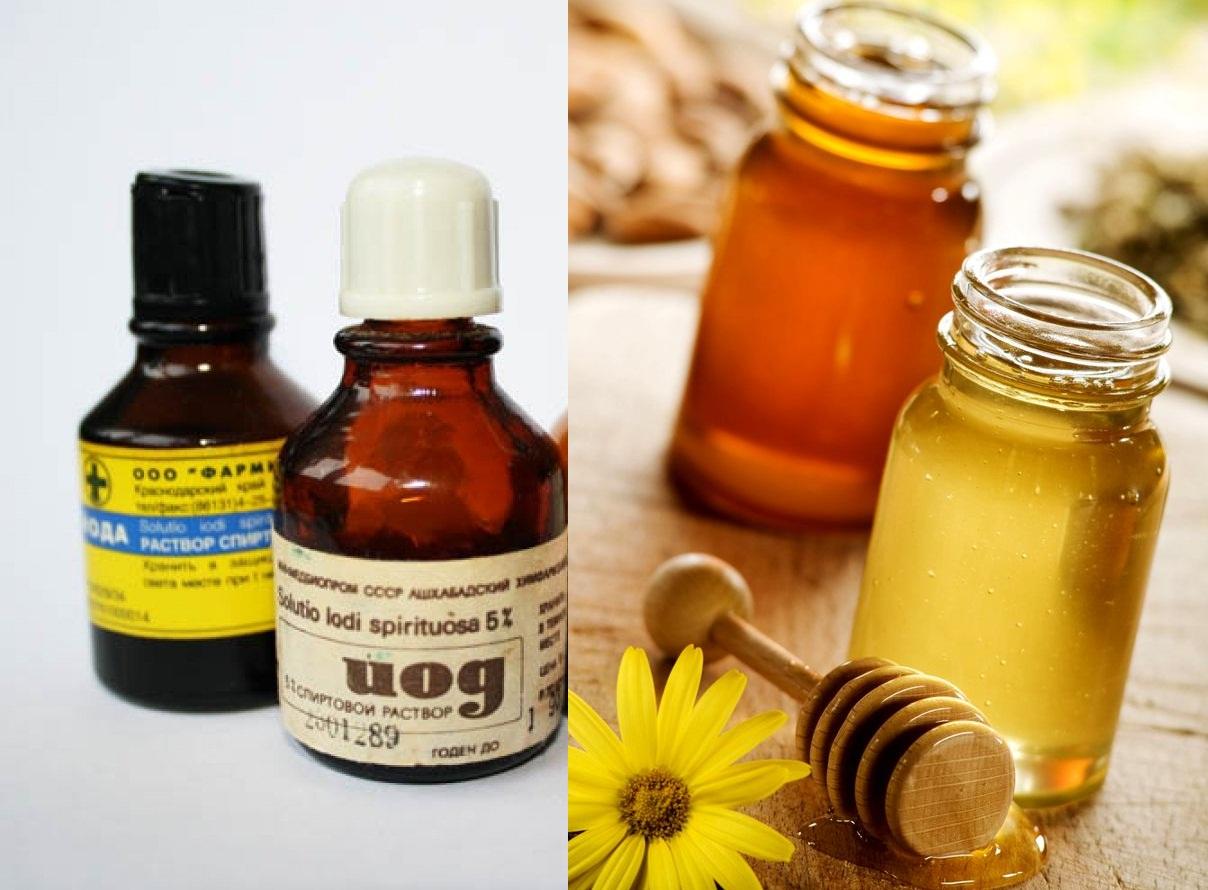 Мед и йод