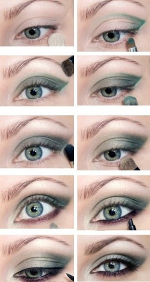 Акценты в макияже. Макияж глаз - подборка фото.