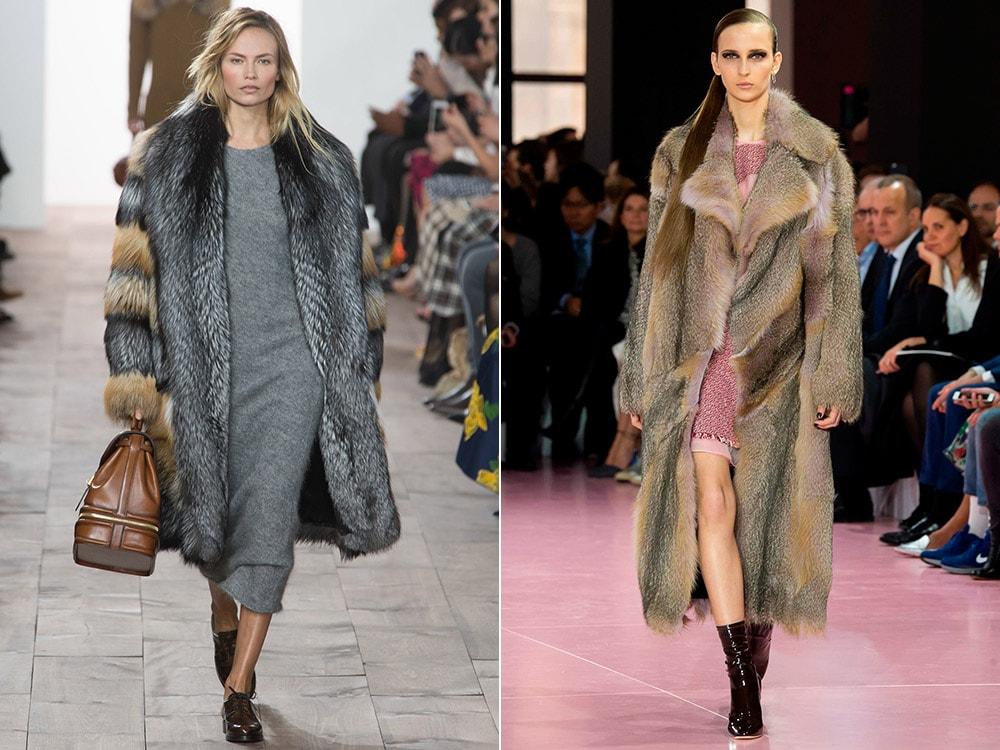 Модные шубы зима 2016