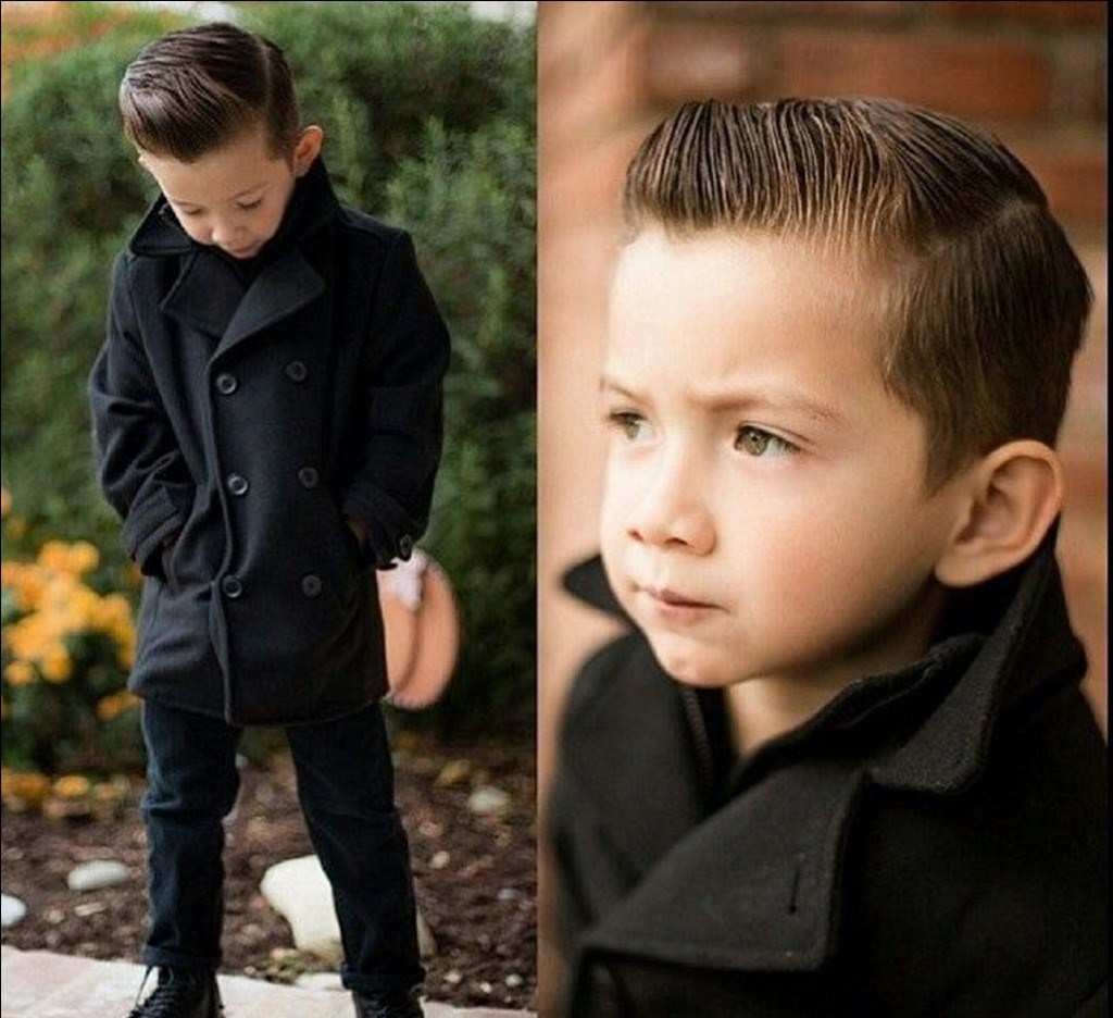 Как сделать красивую причёску для мальчика