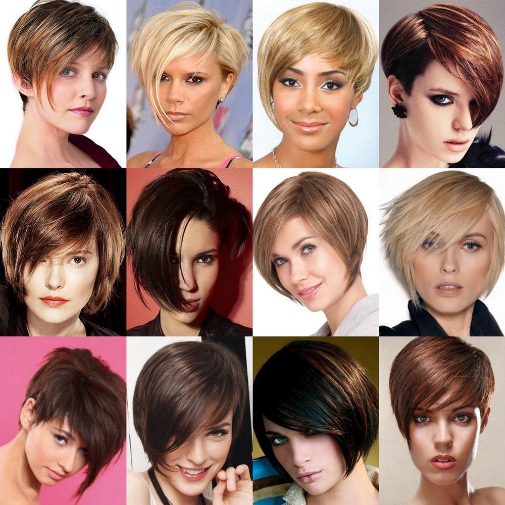 Модные причёски с короткими волосами