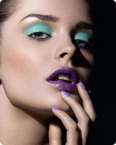 Модный макияж весна лето 2013