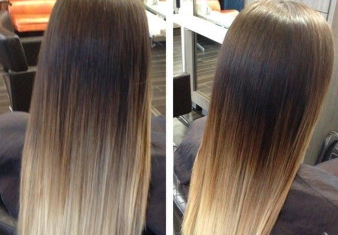 Как сделать омбре на темные волосы фото фото 656