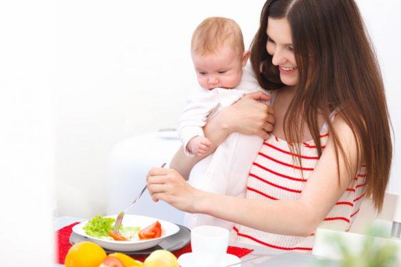 Особенности питания кормящей мамы
