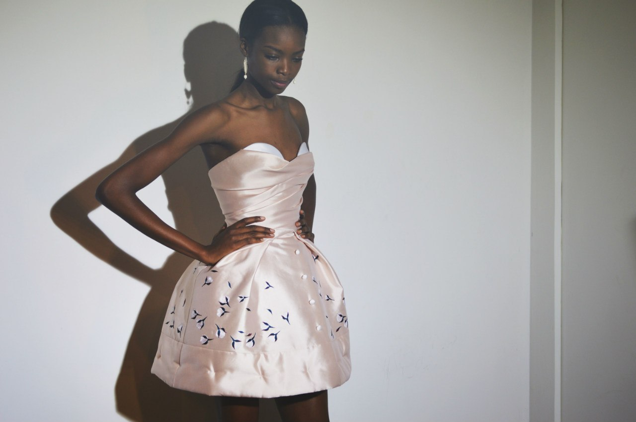 Платье с пышными юбками