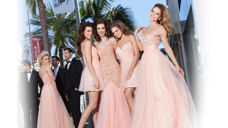 Платья на выпускной для девушек