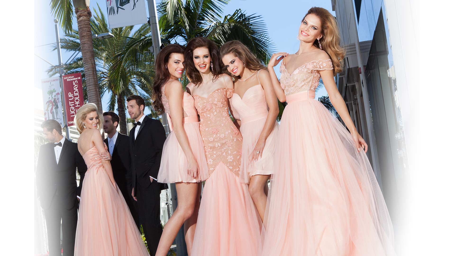 Девушки в выпускном платье фото