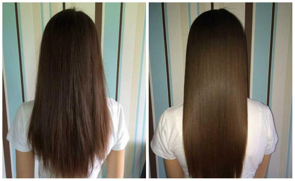 Популярная полировка волос