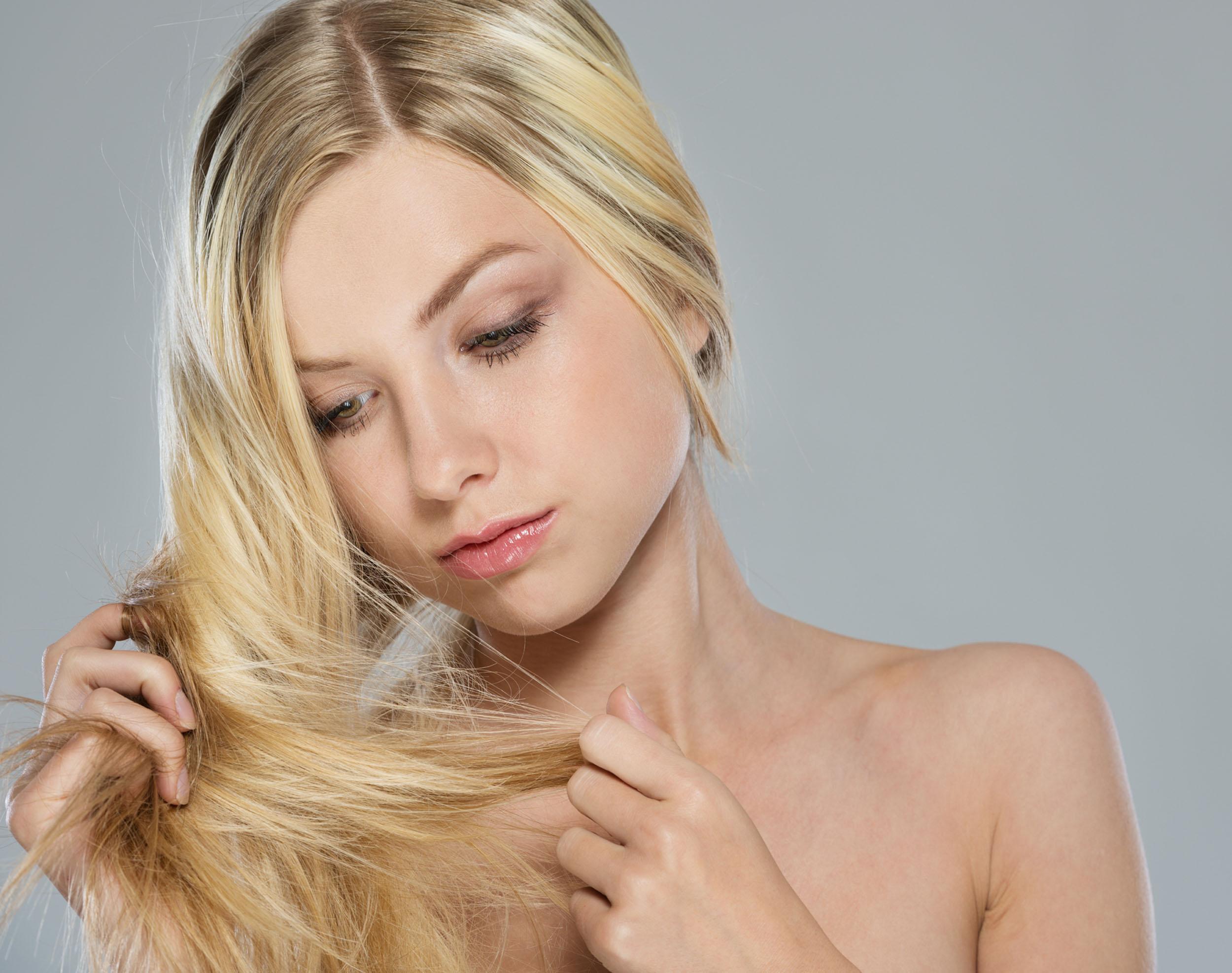 Поврежденная структура волос