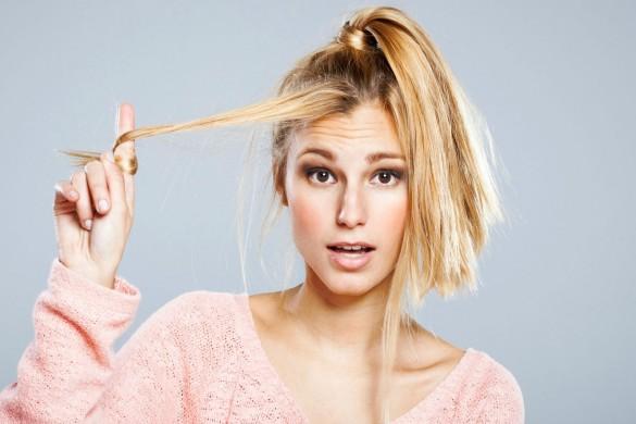 Поврежденные волосы после окрашивания