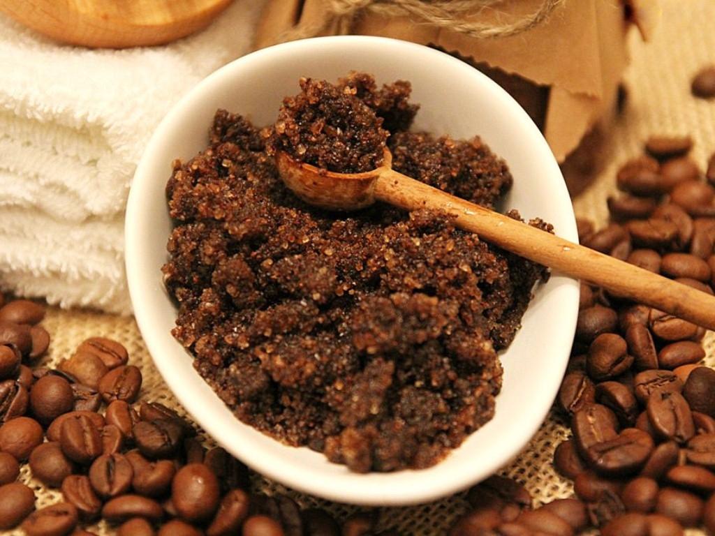 Приготовление кофейного скраба