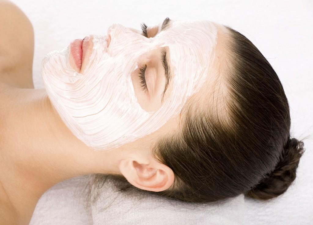 Сливочная маска для лица