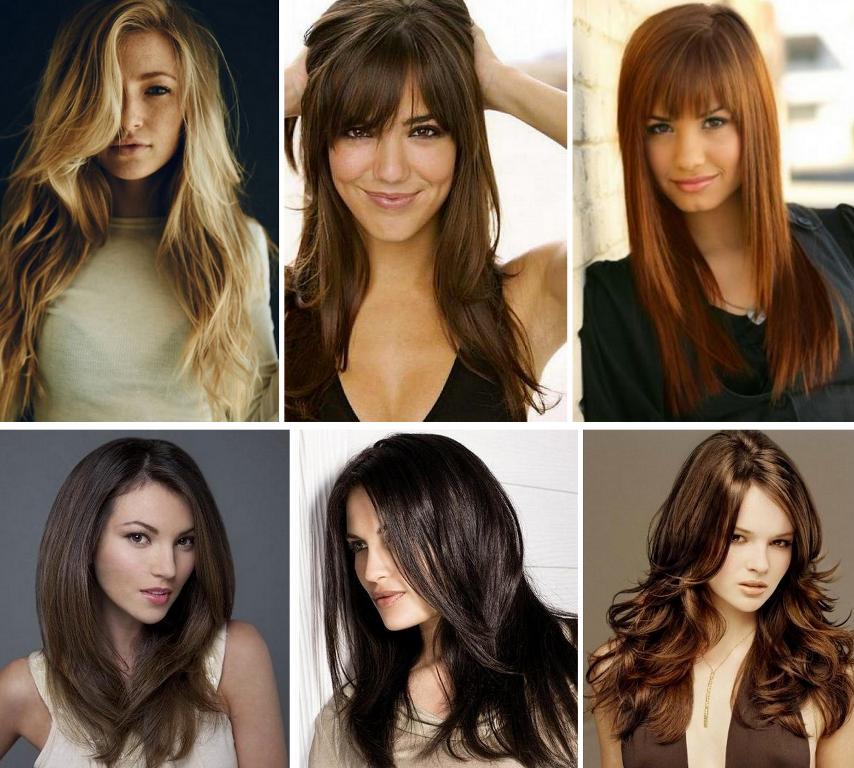 Стильные прически на длинные волосы