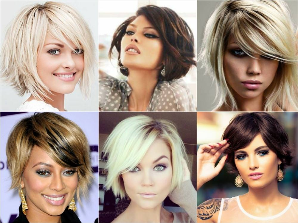 Модные стрижки женские на средние волосы фото