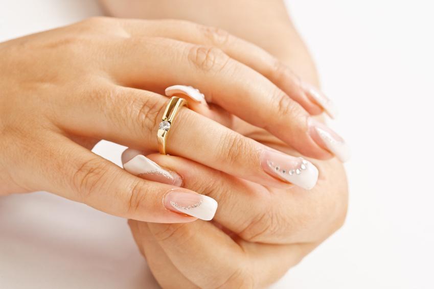 Свадебный дизайн ногтей гель лаком