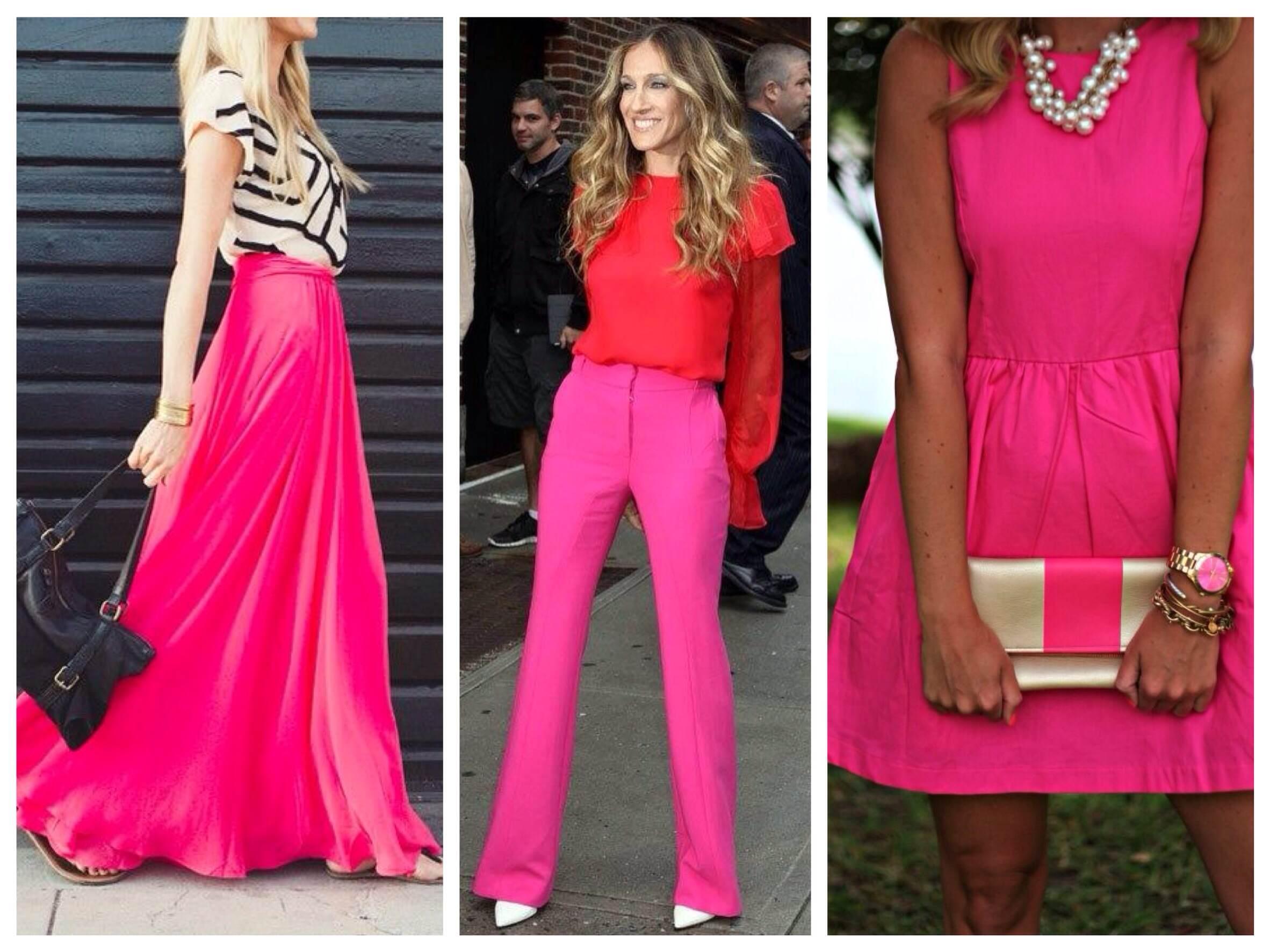 розовый красный одежде и цвета фото в