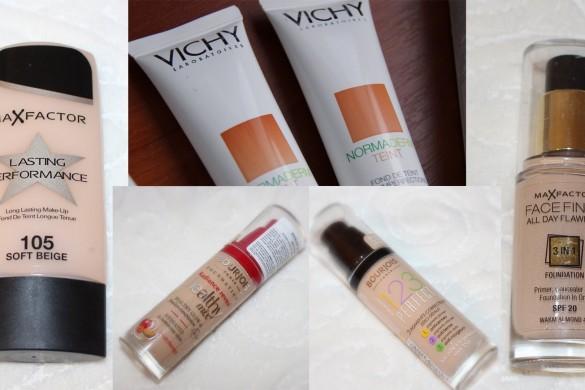 Тональные крема для жирной проблемной кожи