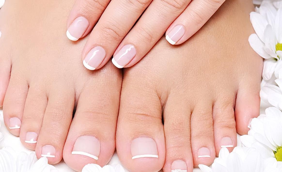 Ухоженная кожа рук и ног
