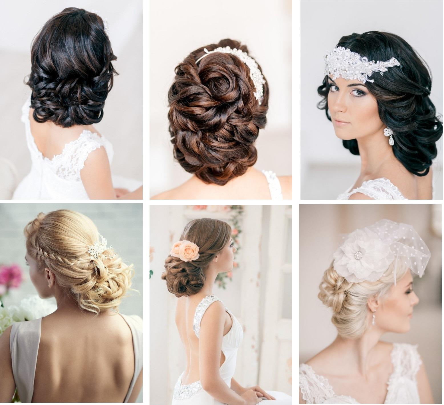 Как делать причёску на свадьбу