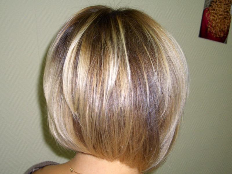 Волосы после объемного окрашивания