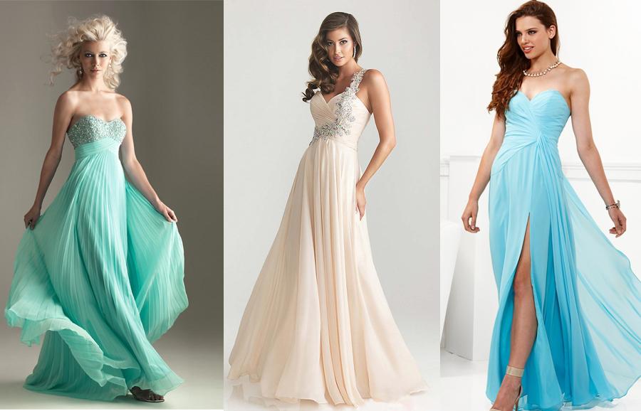 Выпускные вечерние платья 2017