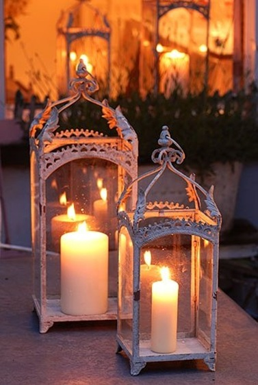Романтические фонари своими руками